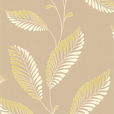 Decorline Aubrey Modern Leaf Trail Wallpaper