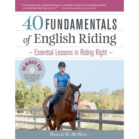 - 40 Fundamentals of English Riding - Hardcover
