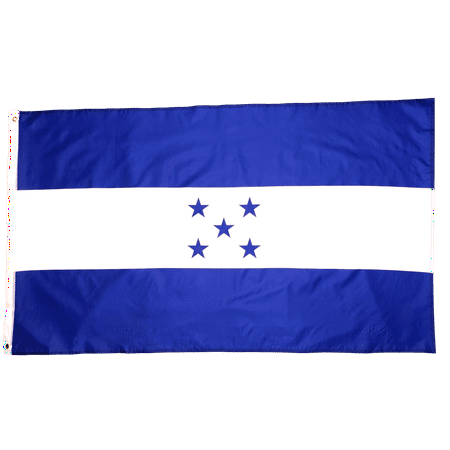 3x5 Foot Honduras Flag Double Stitched Honduran Flag with Brass Grommets | 3 by 5 Foot Premium Indoor Outdoor Polyester Banner Flag