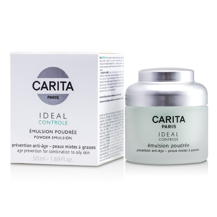 carita ideal controle powder emulsion