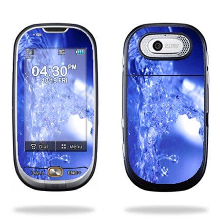 Mightyskins Protective Skin Decal Cover for Pantech Ease P2020 Cell Phone wrap sticker skins Water Explosion