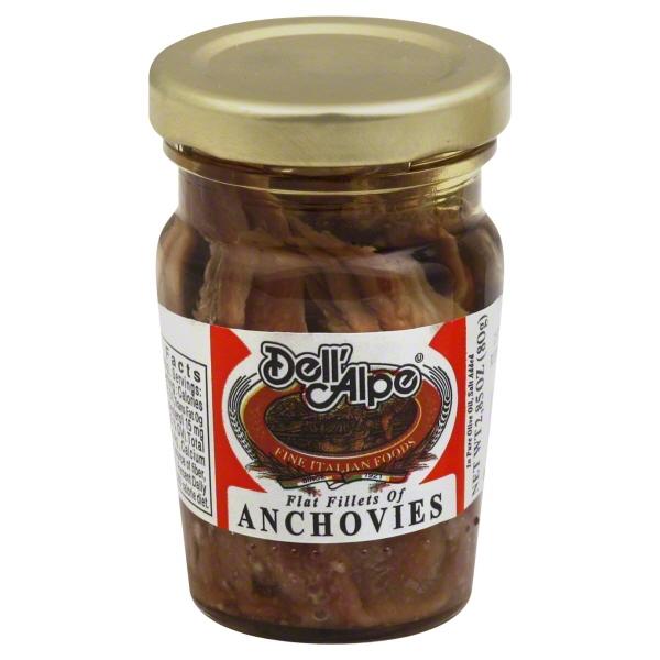 Rubinelli Dell Alpe  Anchovies, 2.85 oz