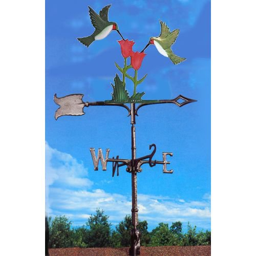 Painted Hummingbirds Weathervane by Whitehall