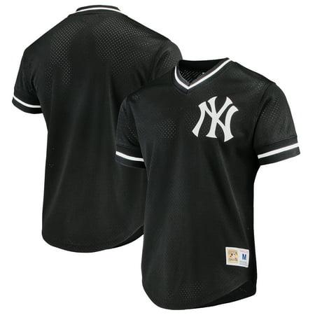 Lindenwold New Jersey (New York Yankees Mitchell & Ness Mesh V-Neck Jersey - Black)