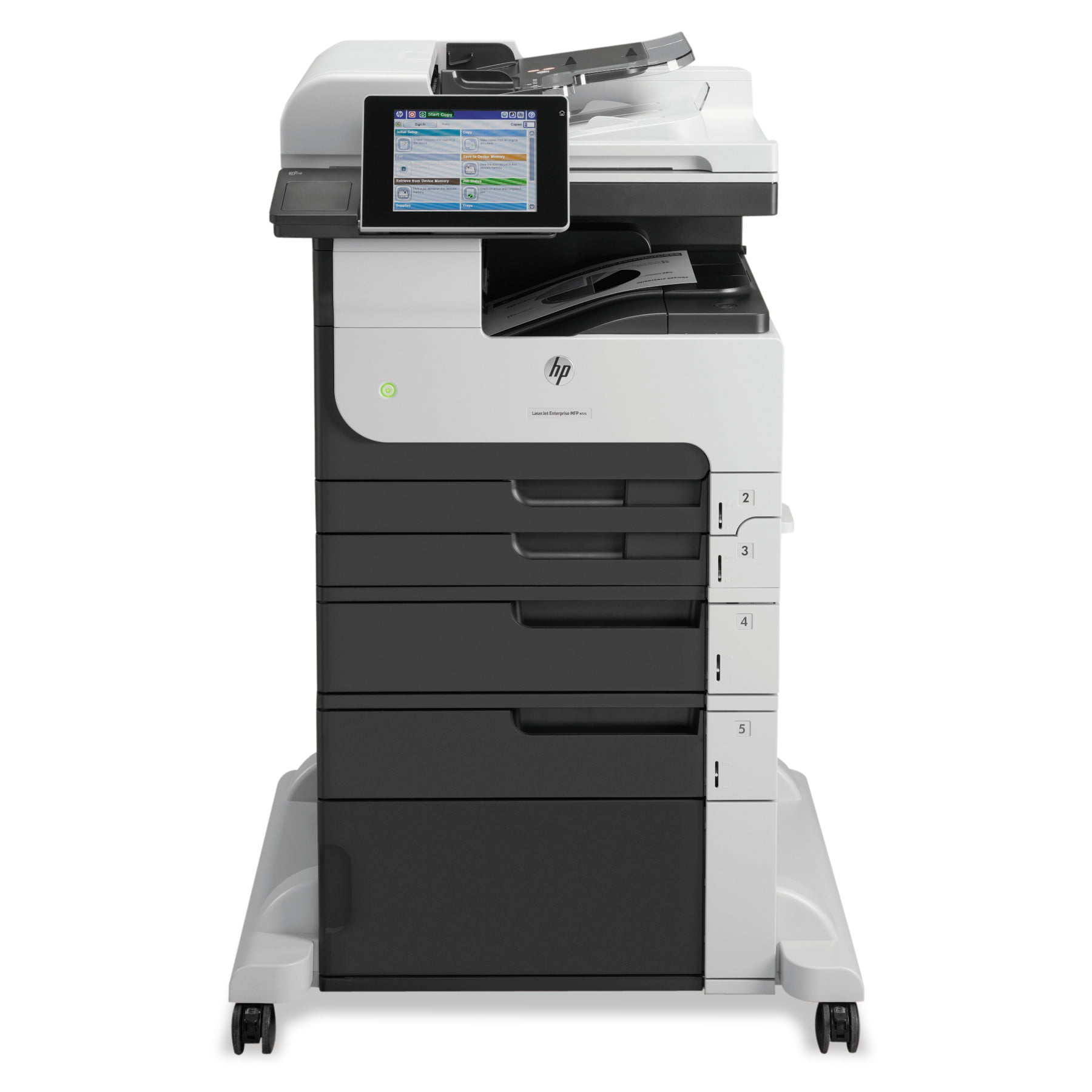 HP LaserJet Enterprise MFP M725f Multifunction Laser Printer, Copy Fax Print Scan by HP