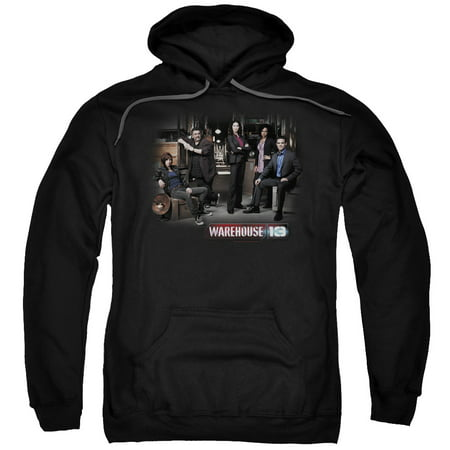 Warehouse 13 Warehouse Cast Mens Pullover Hoodie