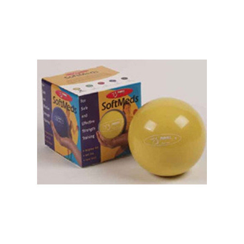 FitBall Softmeds 1.1 lbs in Yellow