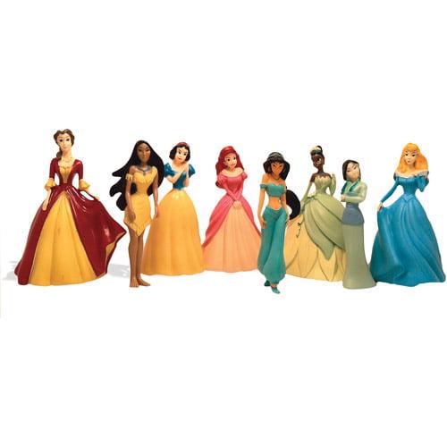 Disney Classic Princess Figurine Set, 8-Pack