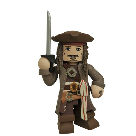 Pirates of The Caribbean Dead Men Tell No Tales Jack Sparrow Vinimate Vinyl Figure