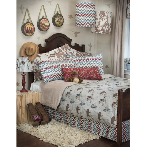 Sweet Potato by Glenna Jean Happy Trails Reversible Duvet