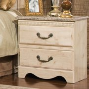 Standard Furniture Seville 23 Inch Nightstand in Old Fashioned Wood