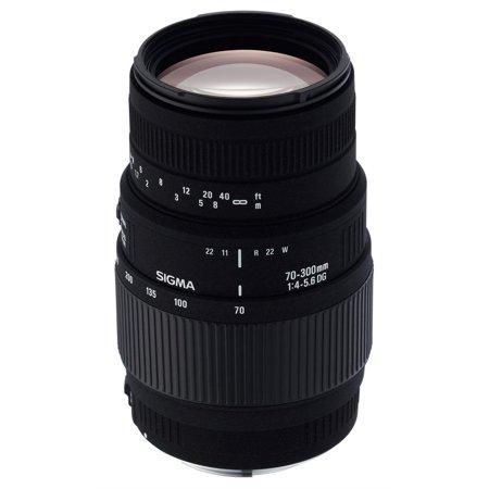 Sigma 70-300mm f/4-5.6 SLD DG Macro Lens with built in motor for Nikon Digital SLR (Sigma 70 300mm F 4 5-6 Nikon)