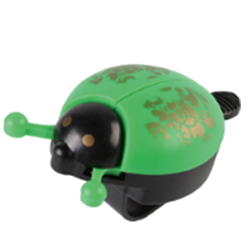 Sweet Ladybugs on Flowers Bicycle Handlebar Bike Bell