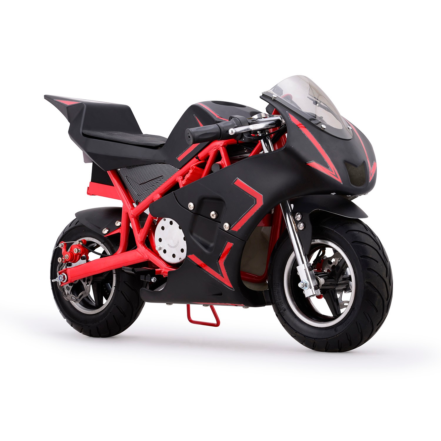 XtremepowerUS 36V Pocket Bike Electric MINI Bike, Red