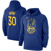 Stephen Curry Golden State Warriors Nike 2019/20 Name & Number Pullover Hoodie - Royal