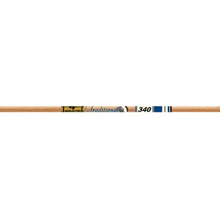(Pack of 12) Gold Tip 340 Traditional XT Arrow Shafts, Brown thumbnail