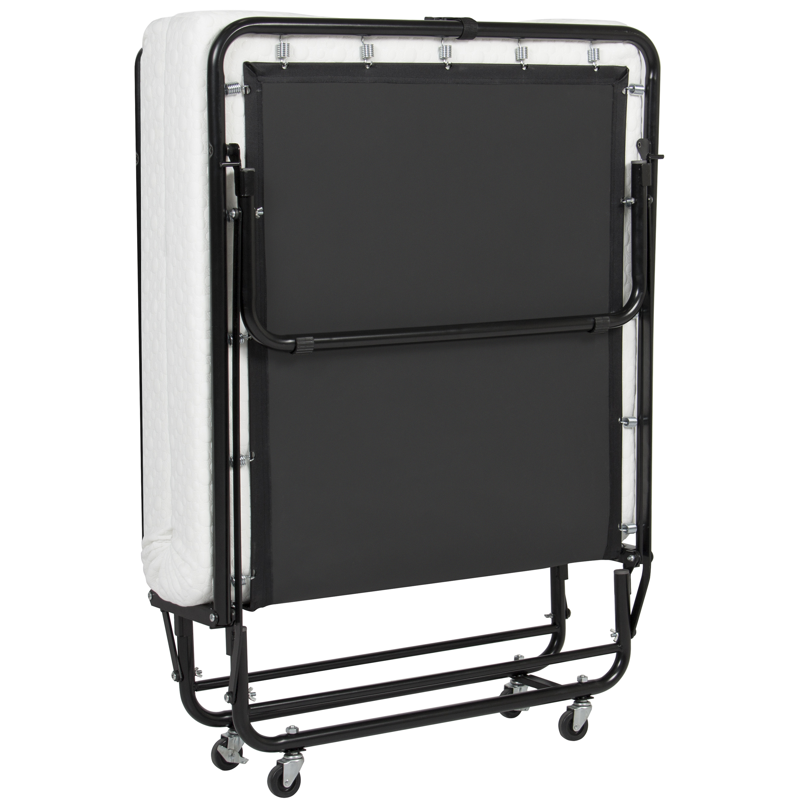 Best Choice Products Folding Rollaway Guest Bed Cot With Memory Foam  Mattress Foldaway Easy Storage - Walmart.com