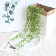 Lover Tears Succulent Artificial Plants Pearls Fleshy Green Vine Hanging Rattan Flowers