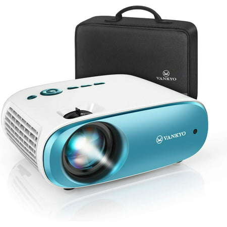 "VANKYO Cinemango 100 Mini Video Projector, HD Movie Projector Support 1080P, 220"" Display, 50,000 Hrs Lamp Life, Compatible with TV Stick, HDMIx2, USBx2, VGA, TF, AV for Home Entertainment"