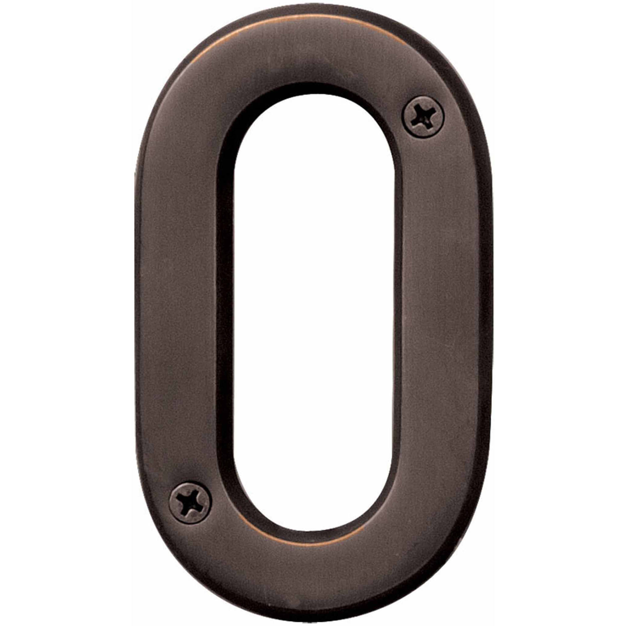 Oil-Rubbed Bronze Number