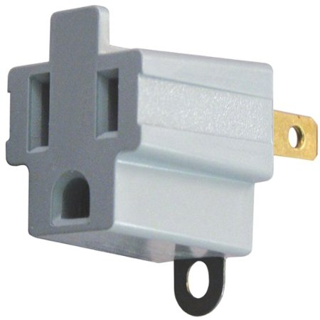 Axis Grounded AC Plug Adapter, 2 pack