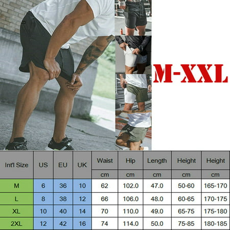 SUNSIOM Men's Sports Training Bodybuilding Summer Shorts Workout Fitness GYM Short Pants
