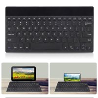 Bluetooth Keyboard, TSV Ultra-slim Lightweight Wireless Keyboard with Foldable Bracket [Ergonomic & Comfortable], Portable Wireless Keyboard with 33ft/10m Stable Connection, USB Charging Cord Included