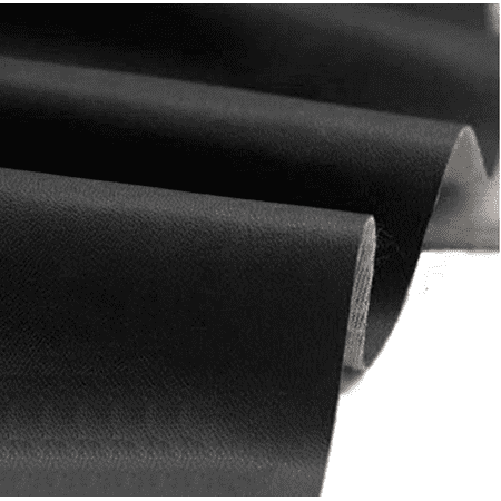 Faux Leather Fabric Calf Black ( 5 yards (Black Faux Leather)