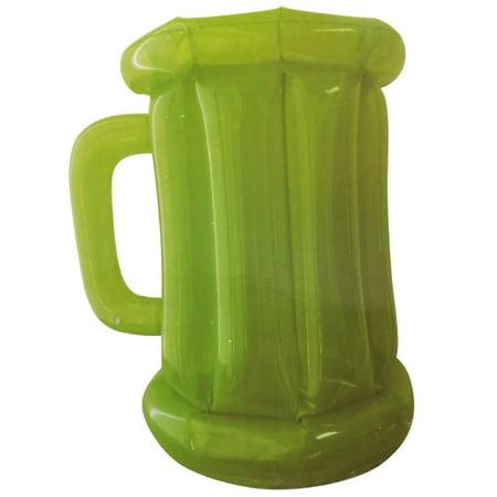 Inflatable Green Beer Mug Cooler - Inflatable Beer Mug
