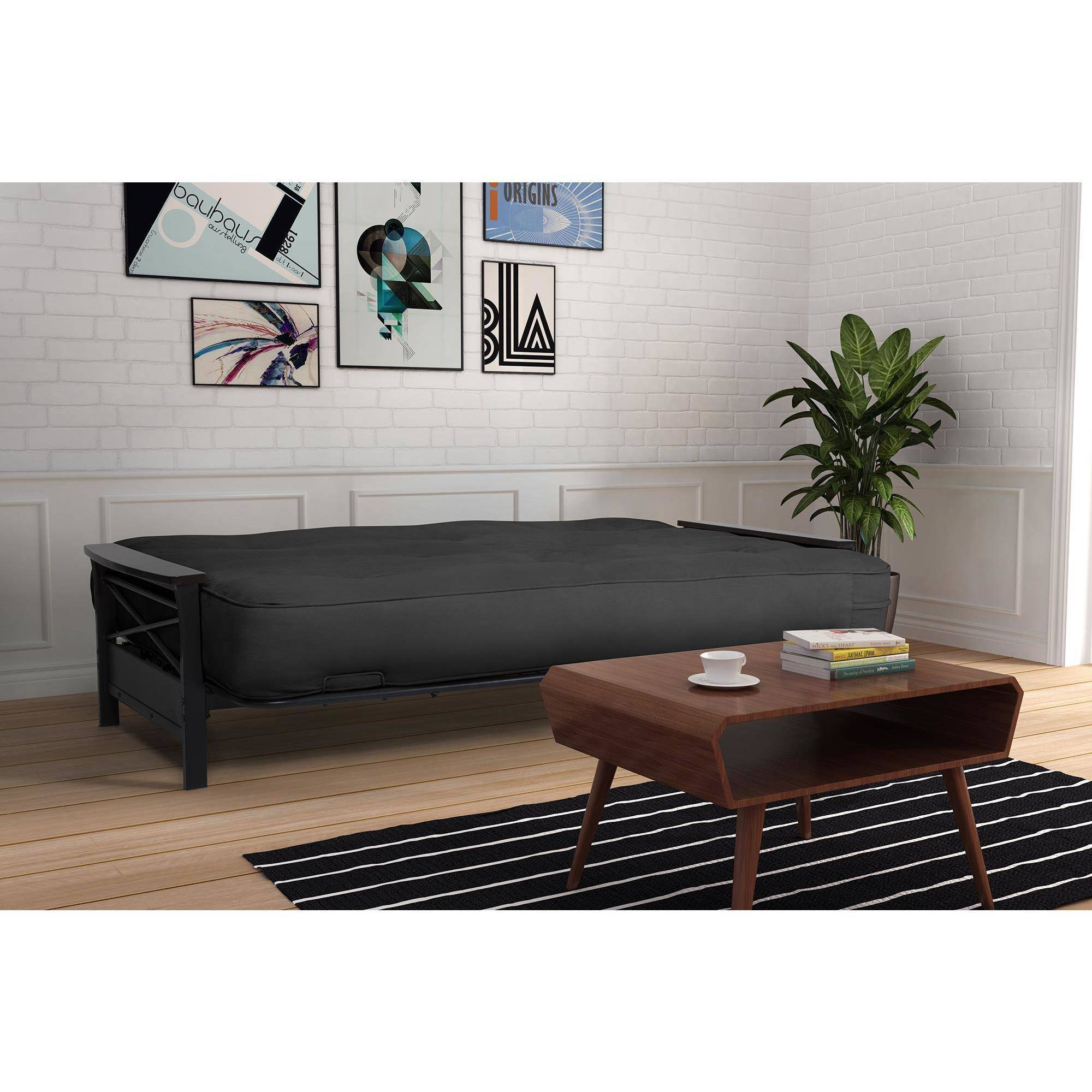 "8"" Independently Encased Coil Premium Full Futon Mattress"
