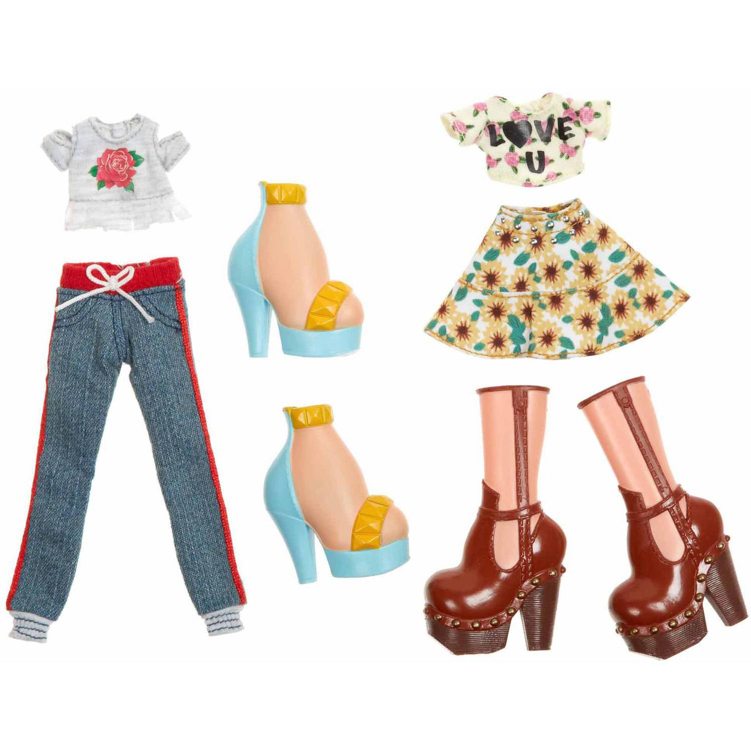 Bratz Deluxe Fashion Pack 1, Yasmin and Cloe by MGA Entertainment