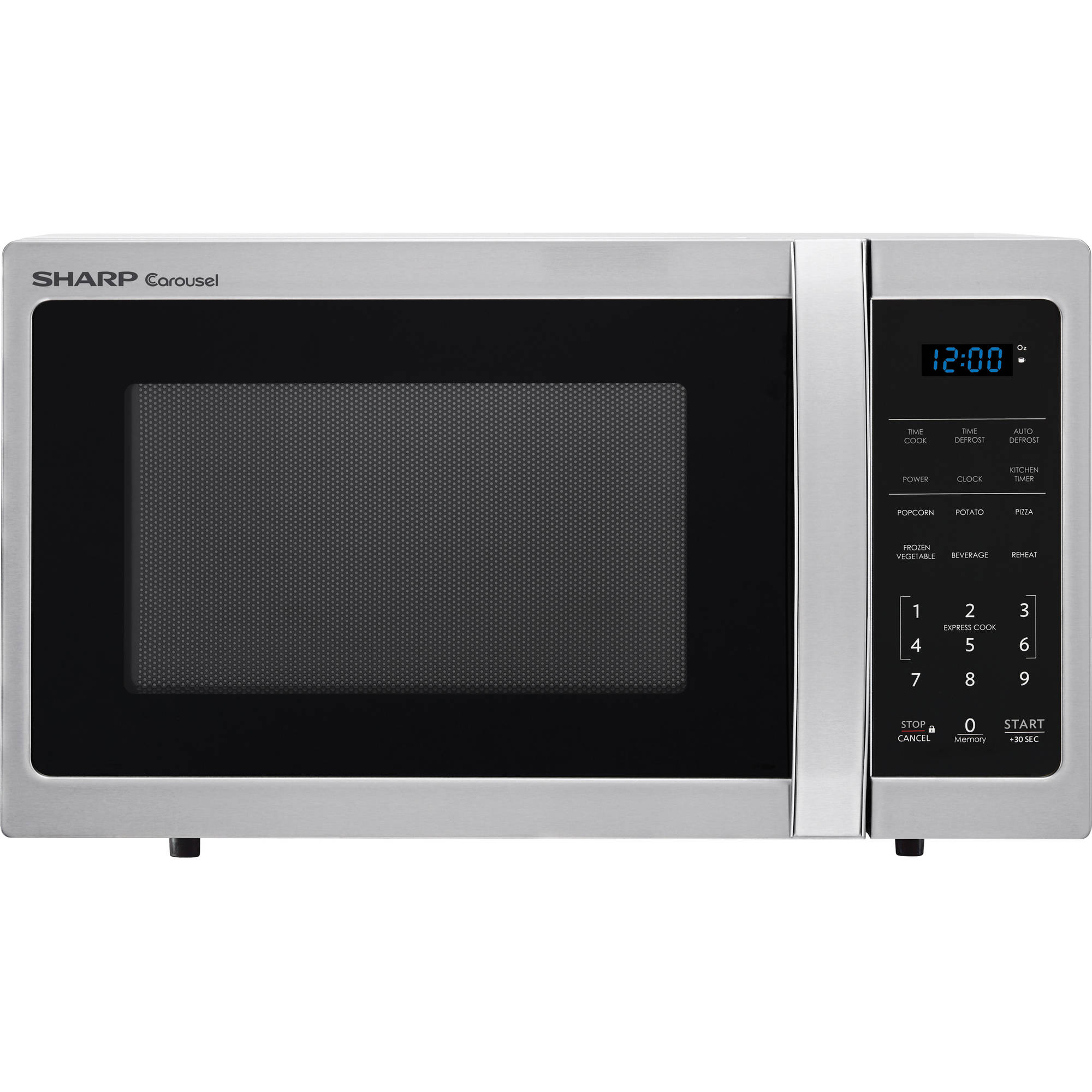 Sharp ZSMC0912BS .9 Cu Ft Microwave, Stainless Steel