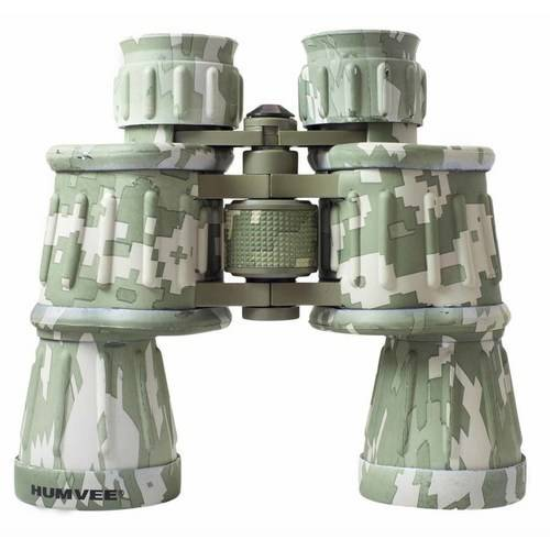 Anti-Reflective Rubber Armor Field Binocular, Humvee, 10x50, Available in Multiple Colors
