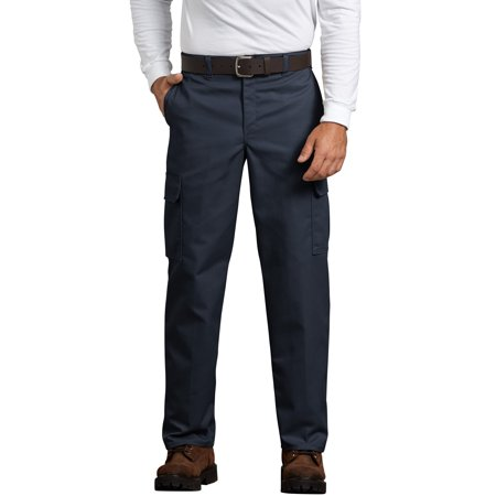 Dickies Mens Flat Front (Men's Relaxed Fit Flat Front Cargo Pant )