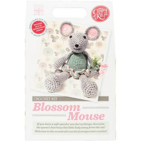 The Crafty Kit Ck 0102 Blossom Mouse Crochet Kit Walmart Canada