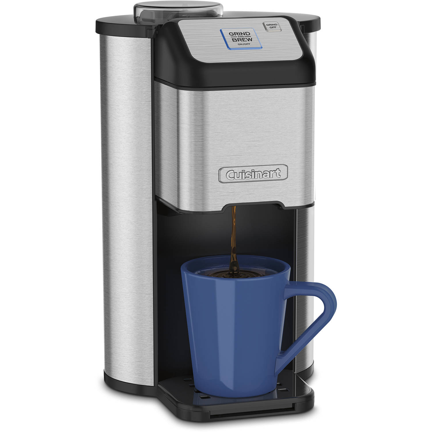 Single Serve Coffee Maker Cuisinart Grind & Brew 1 Cup Coffeemaker with Grinder