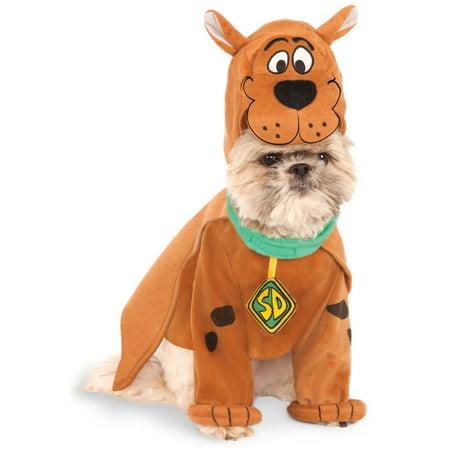 Scooby Doo Scoobert Pet Dog Cat Halloween Costume](Good Ideas For Halloween Costumes For Dogs)