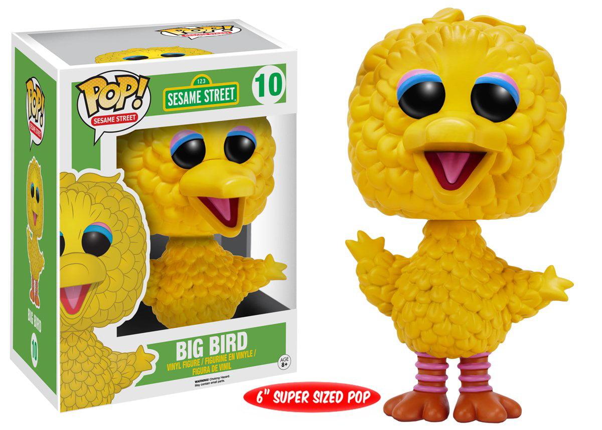 e-FunKo SPEDIZIONE GRATUITA! Sesame Street-Big Bird 6 pollici Floccati POP!