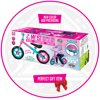 Zycom ZBike Toddlers Balance Bike and Adjustable Helmet Combo – Pink/Blue - Suits Ages 18 – 36 Months - Max Rider Weight 44lbs – 3 Year Manufacturer's Warranty