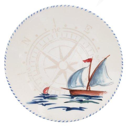 Abbiamo Tutto Sailboat Pasta Bowl (Set of 6) by