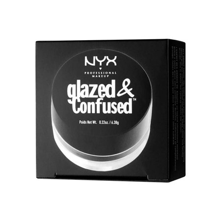 NYX PROFESSIONAL MAKEUP Glazed & Confused Eye Gloss, Blackout, 0.22