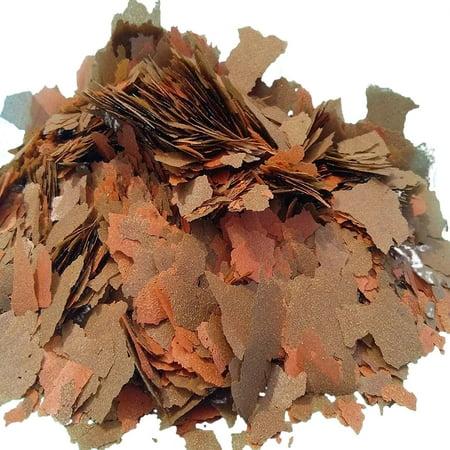 Aquatic Foods 45% Blackworm & Brine Shrimp Flake Blend, ULTRA Premimum Tropical Fish Flakes - -