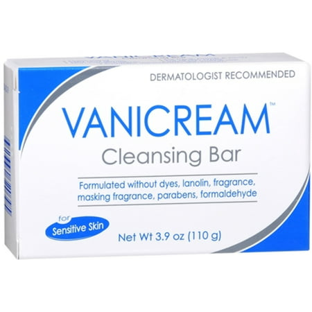 Vanicream Cleansing Bar for Sensitive Skin 3.90 oz (Pack of