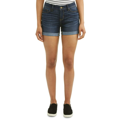 Puma Womens Fitted Shorts (Women's 4.5 Denim Shorts )