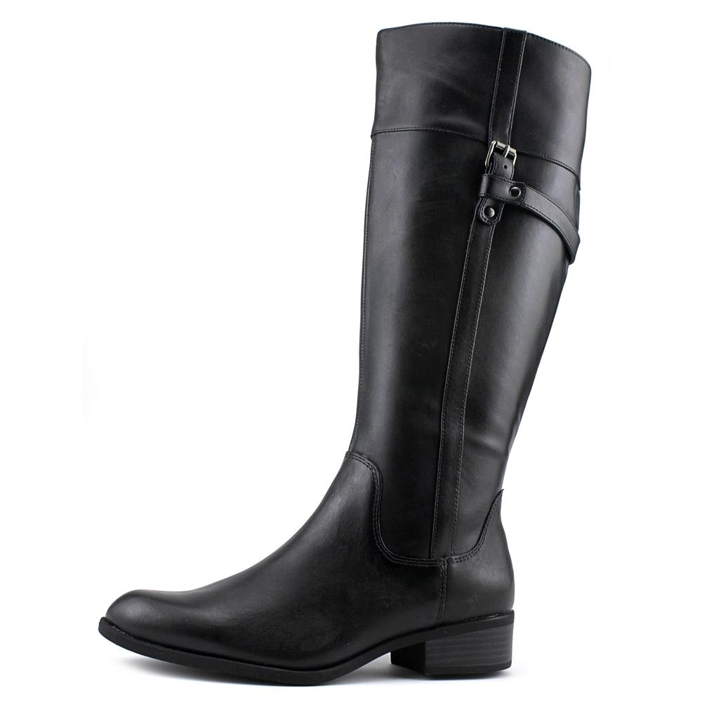 Easy Spirit Domina   Round Toe Leather  Knee High Boot