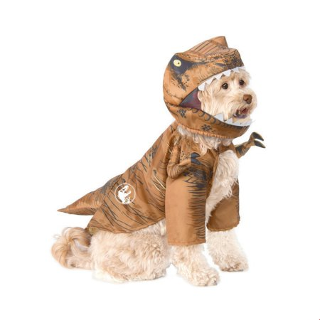 Jurassic World T-Rex Pet Halloween Costume (Pet Halloween Costumes Uk)