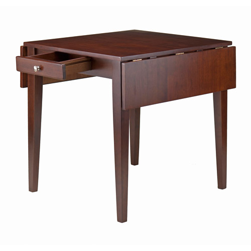 Hamilton Double Drop Leaf Dining Table, Walnut