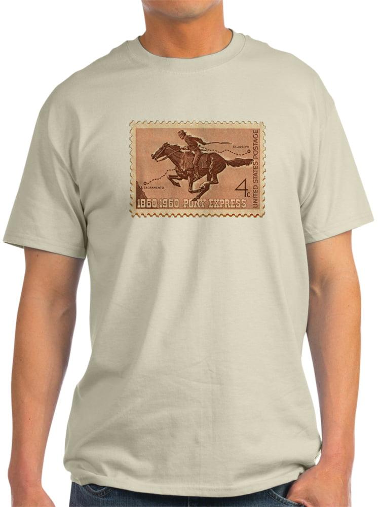 CafePress - 1960 Pony Express - Light T-Shirt - CP