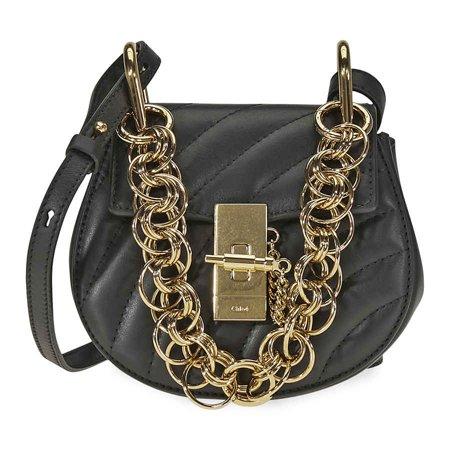 Chloe Drew Bijou Quilted Leather Shoulder Bag- - Chloe Bay