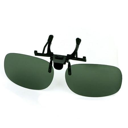 Summer unisex fishing hiking flip up clip on polarized for Polarized fishing sunglasses walmart